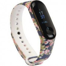 Colorful band for Mi Band 3/4/5 - flowers