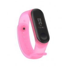 Transparent colorful band for MiBand 3