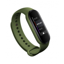 Silicone band for Mi Band 4/5 - army green