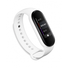 Silicone band for Mi Band 4/5 - white