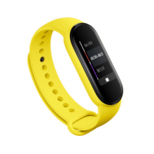 Silicone band for Mi Band 4/5 - yellow