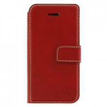 Molan Cano Issue Book flip case Redmi Note 9 red